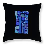 Life In The Pond Throw Pillow