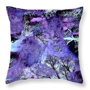 Life In The Ultra Violet Bush Of Ghosts  Throw Pillow