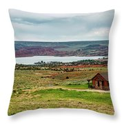 Life In Wyoming Throw Pillow