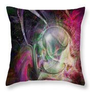 Life In Your Soul Throw Pillow
