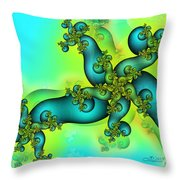 Life Is A Mystery Throw Pillow