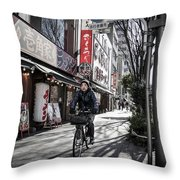 Life Is Fiction Throw Pillow