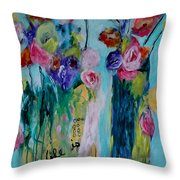 Life Is Freedom Throw Pillow