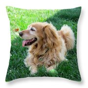 Life Is Good For Maddie Throw Pillow