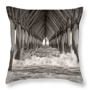 Life Is Good On Topsail Scp Throw Pillow