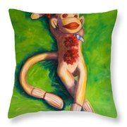 Life Is Good Throw Pillow by Shannon Grissom