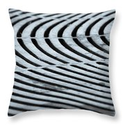 Life Is Grate Throw Pillow