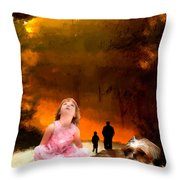 Life Is Not A Quiz Throw Pillow