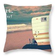 Life Is Short Buy The Beach House Mug Throw Pillow