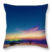 Life Is Simple Just Add Water Throw Pillow