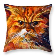 Life Isn't Easy Throw Pillow