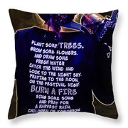 Life Living  Throw Pillow
