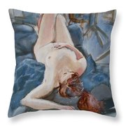 Life Model Throw Pillow