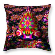 Life Of The Party Throw Pillow