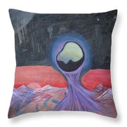Life On Another Planet I Throw Pillow
