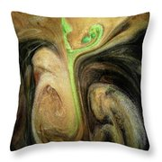 Life Prevailing Throw Pillow