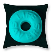 Life Savers Cool Breeze Throw Pillow