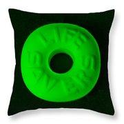 Life Savers Mint Throw Pillow