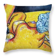 Life Study Of The Female Figure 15 Throw Pillow