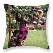 Life Swing Throw Pillow