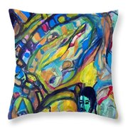 Life-the Whiz Bang Fun Machine Throw Pillow
