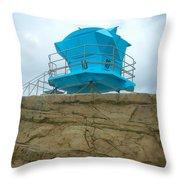 Lifeguard Lookout Throw Pillow