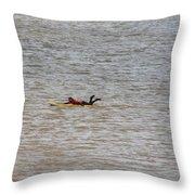 Lifeguard Training Throw Pillow