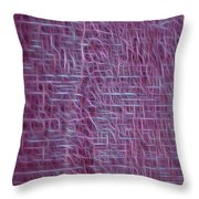 Lifelines Design Throw Pillow