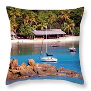 Lifes A Beach Throw Pillow