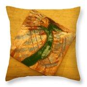 Lifes Beach - Tile Throw Pillow