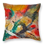 Lifes Little Cracks Throw Pillow