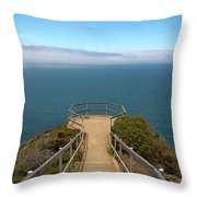 Life's Lookout Throw Pillow