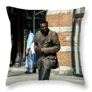 Life's Reality Throw Pillow