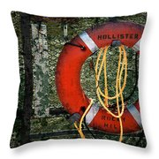 Lifesaver Throw Pillow