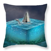 Lifetime Adventure Throw Pillow