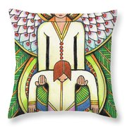 Lift Me Up Throw Pillow by Amy S Turner
