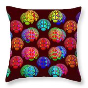 Lift Wrapper Throw Pillow