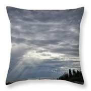 Light After The Storm Throw Pillow