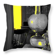 Light Among The Antiques Throw Pillow