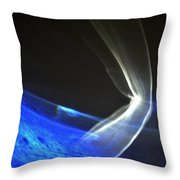 ''light And Blue Disc No.103'', Thu--17sep2015 Throw Pillow