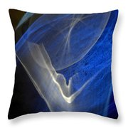 ''light And Blue Disc No.107'', Thu--17sep2015 Throw Pillow