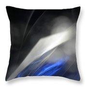 ''light And Blue Disc No.110'', Thu--17sep2015 Throw Pillow