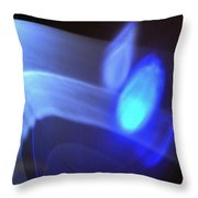 ''light And Blue Disc No.116'', Fri--18sep2015 Throw Pillow