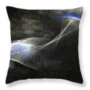 ''light And Blue Disc No.36'', Thu--10sep2015 Throw Pillow