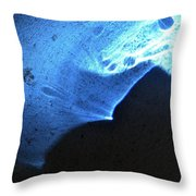 ''light And Blue Disc No.76'', Fri--23oct2015 Throw Pillow