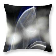 ''light And Blue Disc No.84'', Mon--14sep2015 Throw Pillow