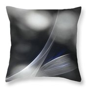 ''light And Blue Disc No.85'', Mon--14sep2015 Throw Pillow