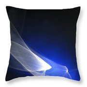 ''light And Blue Disc No.98'', Thu--17sep2015 Throw Pillow