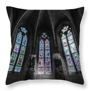 Light And Dark Throw Pillow