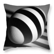 Light And Egg 19 Throw Pillow